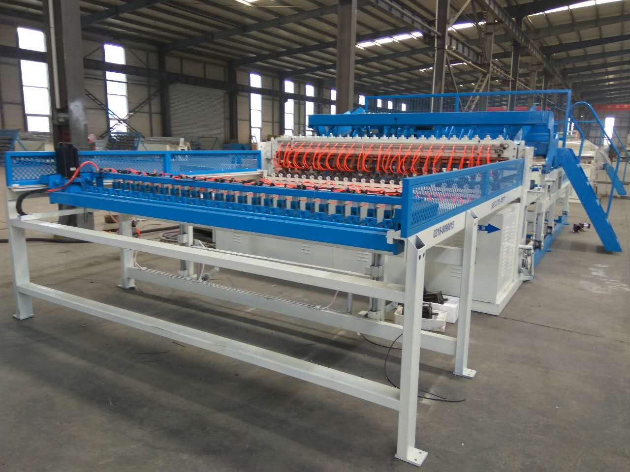 welded wire mesh machine 1