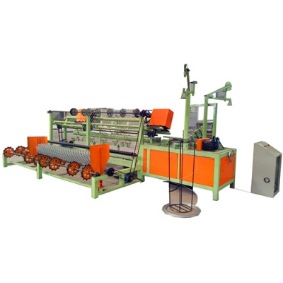 Full Automatic Chain Link Fencing Machine
