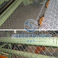 China Double Wire Chain Link Fence Woven Machine